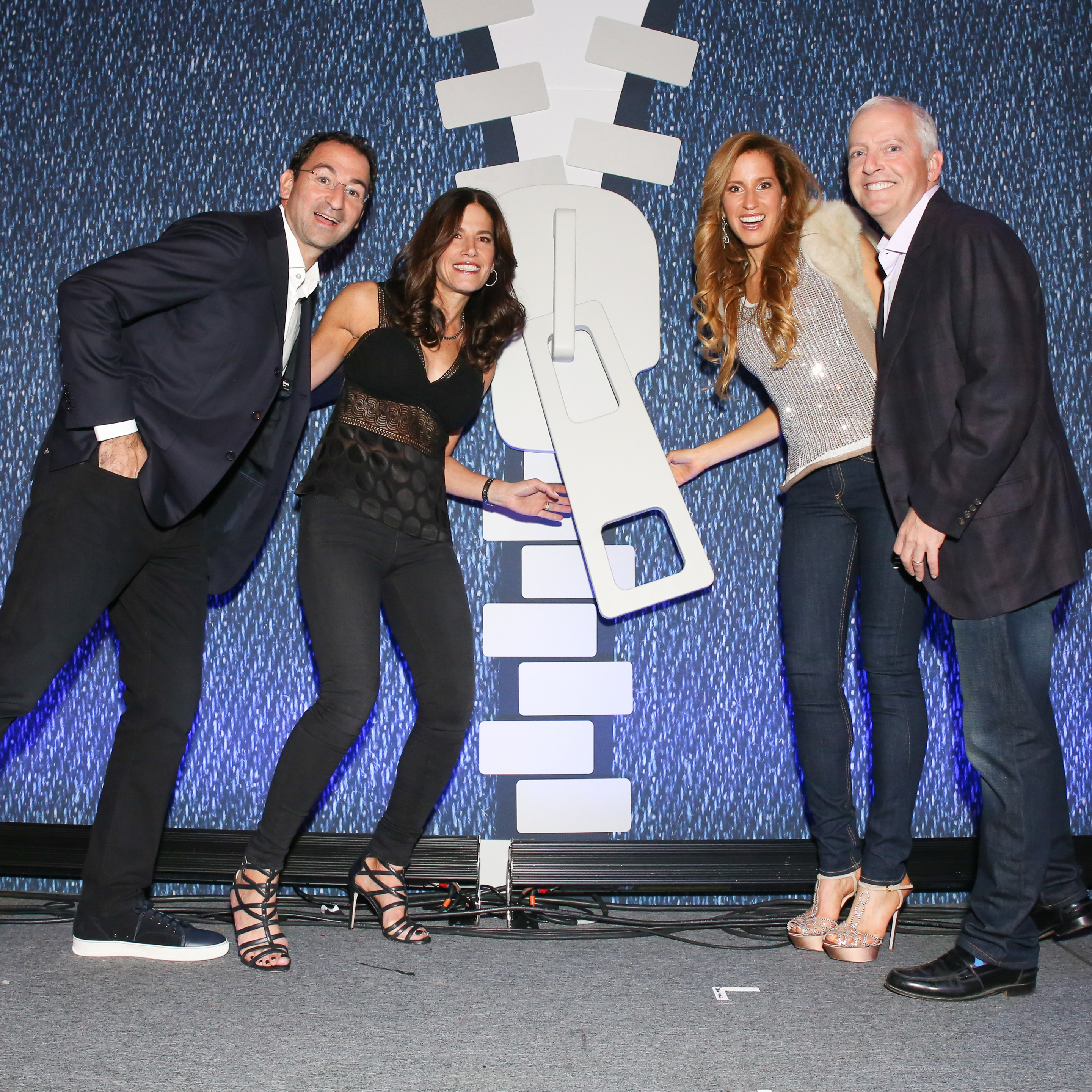 Basser Center founders and donors at the inaugural Jean Bash charity event
